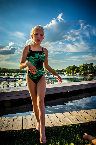 Indian Lake Swim Club. © 2012 Joanne Milne Sosangelis. All rights reserved.