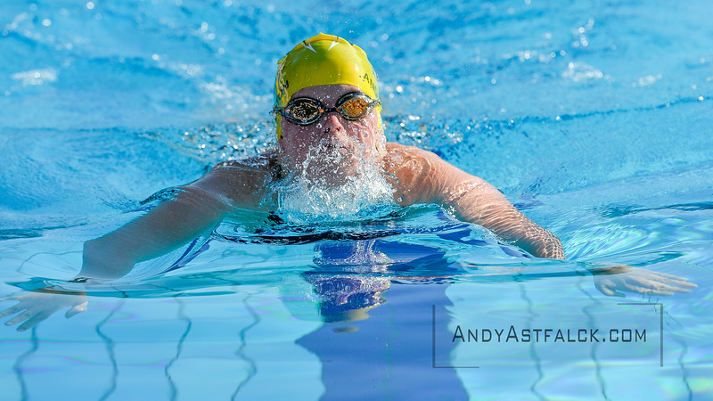 Taylor Anderton of Australia on Day 3 of the 8th Down Syndrome World Swimming Championships held in Florence Italy on July 20 2016.