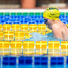 Phoebe Mitchell of Australia during morning Breaststroke Heats on Day 3 of the 8th Down Syndrome World Swimming Championships held in Florence Italy on July 20 2016.