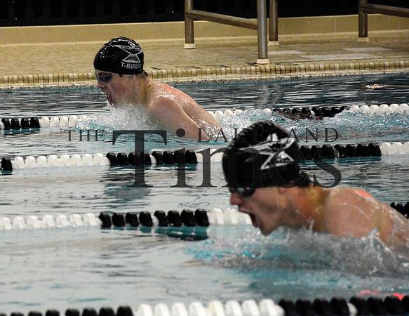 12-01-15 Lakeland Boys Swim v Medford