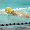Leominster's Carlos Ordonez swims in Friday's meet against Nashoba.<br /> SENTINEL & ENTERPRISE / BRETT CRAWFORD