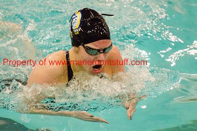 MHS Swim Team State Meet Finals 2016-2-26-29