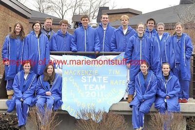 MHS Swim State bound 2011-02-23 7