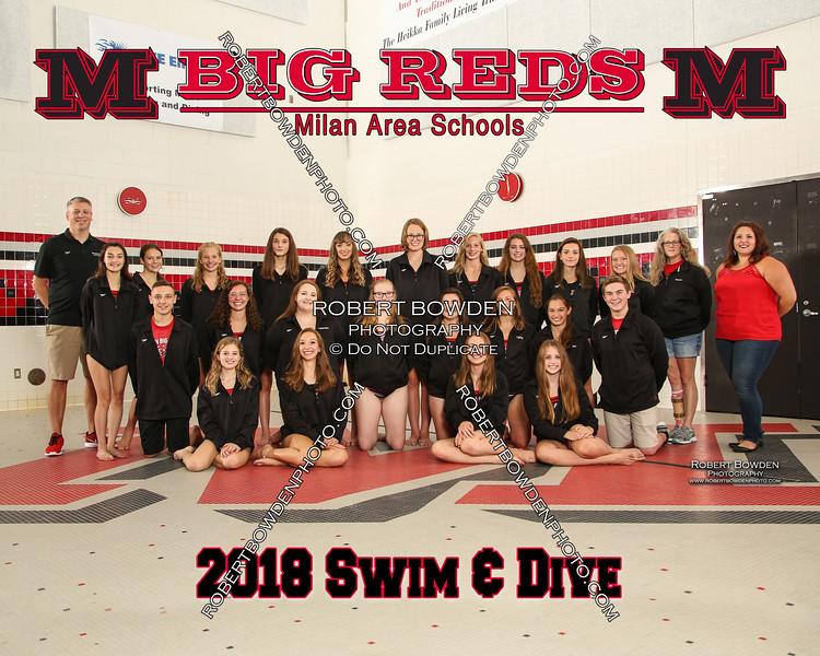 Milan 8x10 2018 Swim Womens