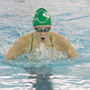 SAM HOUSEHOLDER | THE GOSHEN NEWS<br /> Concord junior Ashley Schrock swims the 200 yard IM during the NLC Preliminaries Thursday at Concord High School.