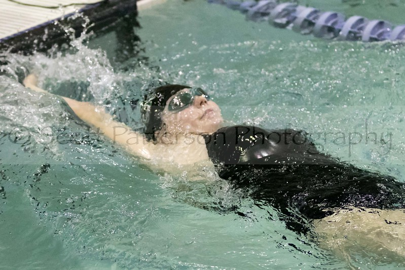 Dover's Kylee George competes in the Girls 200 Yard IM during the Holiday Invitational Swim Meet in Durham Friday. Scott Patterson/Fosters.com