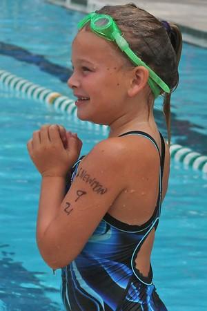 Swim Meet Dye-Clay YMCA vs Winston YMCA 7-12-08