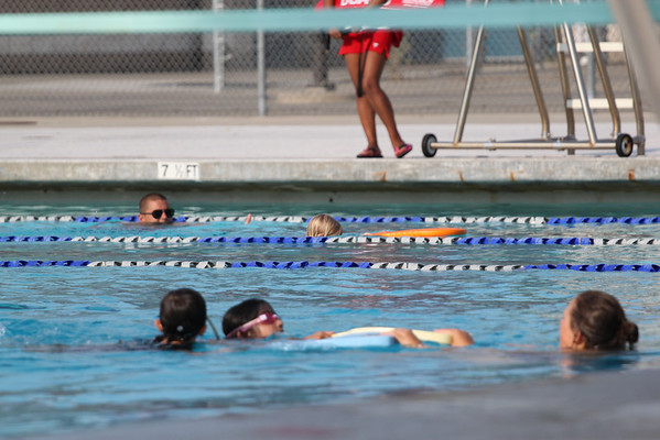 Swim lessons 2013