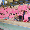 The Special Olympics swim team, the Dolphins, practices at the YMCA in Winchendon.  SENTINEL & ENTERPRISE / Ashley Green