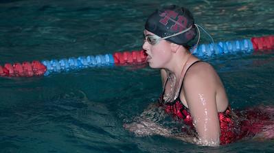 Carlie at swim practice 2008