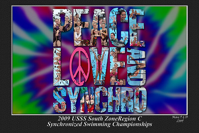 2009-05-10 Peace Love & Synchro Poster