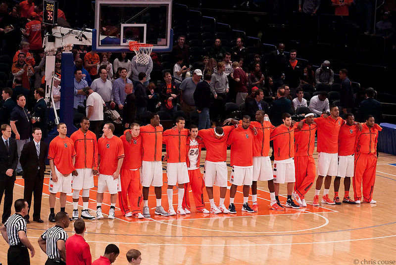 2011 Syracuse vs Stanford at Madison Square Garden