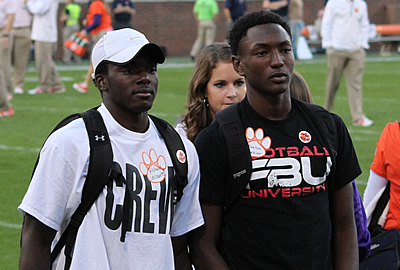 Richard Lecounte and Jaalon Frazier