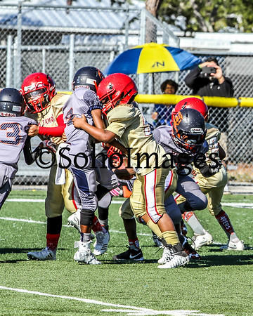 TBYFL PeeWee 49ers Vs. Bears 2nd Round