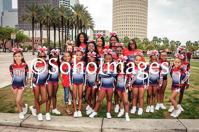 TBYFL All Star Cheerleaders 2016