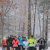 Record-Eagle/Keith King<br /> Runners begin a 25k race Saturday, April 13, 2013 during the Traverse City Trail Running Festival at Timber Ridge Resort.
