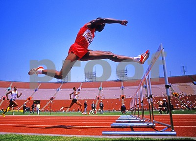 The Great Edwin Moses, 400m Hurdles Competition, 1984 Olympic Trials, L.A. Coliseum