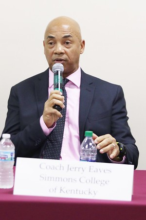 NBA  T.V. will Feature Jerry Eaves former Louisville and NBA, player on Simmons Basketball team. Eaves, whose goals is to get at risk young men into college with basketball.