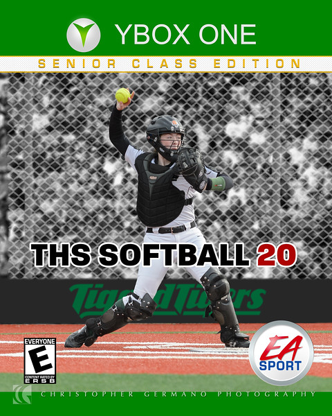 THS Softball - Emily