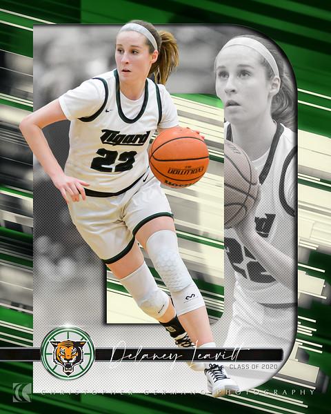 THS Girls Basketball - Delaney