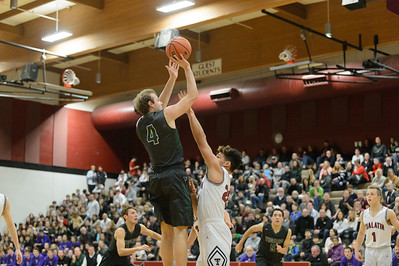 THS Boys Varsity Basketball vs Tualatin