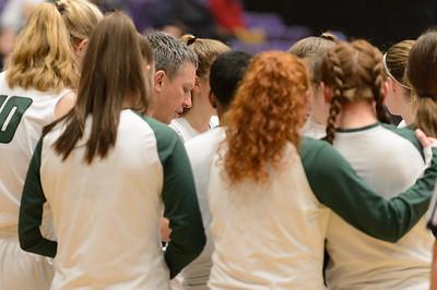 THS Girls Varsity BB vs West Linn - Fourth Place