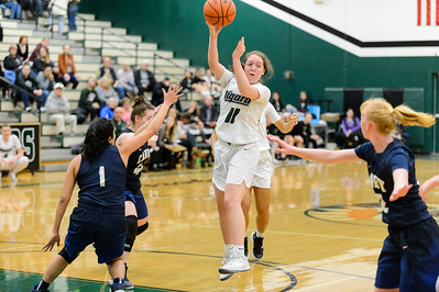 Tigard HS Varsity Girls BB vs Canby