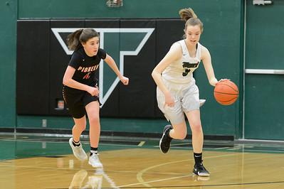 THS JV Girls BB vs Oregon City