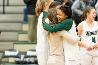 Tigard HS Varsity Girls BB vs South Salem