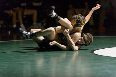 Tigard HS Varsity Wrestling vs Canby - 106