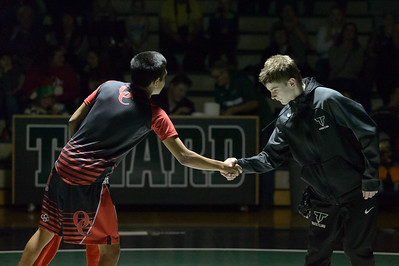 Tigard HS Varsity Wrestling vs Oregon City