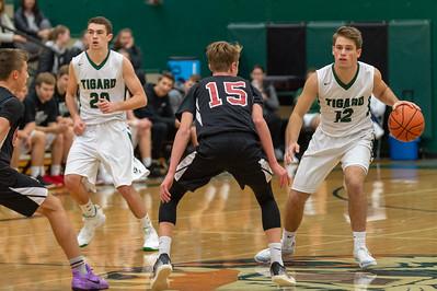 THS Varsity Boys Basketball vs Clackamas