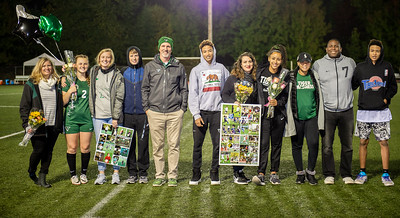 Girls Varsity Soccer Senior Night