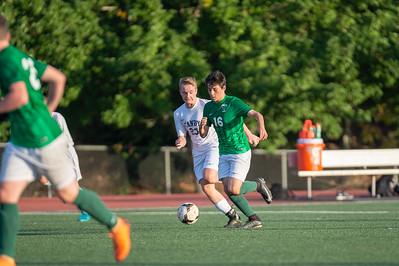 THS Boys JV Soccer vs Canby
