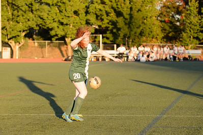 THS Girls JV Soccer  vs West Linn