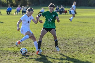 THS Girls JV II Soccer v Canby