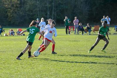 THS Girls JV II Soccer v Oregon City