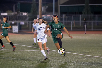 Tigard Girls Varsity Soccer vs Lake Oswego HS