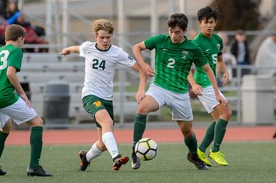 Boys JV Soccer vs West Linn