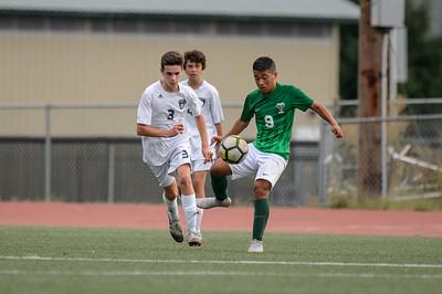 THS Boys JV Soccer vs Wilsonville