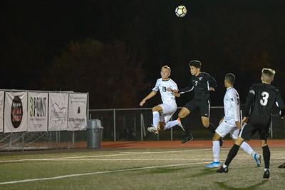 THS Boys Varsity Soccer vs West Linn