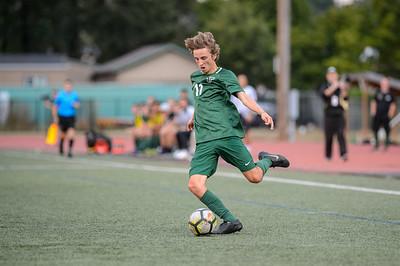 THS Boys Varsity Soccer vs Wilsonville