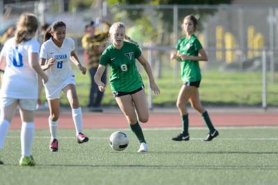 THS Girls JV Soccer vs Gresham