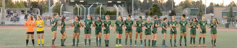 THS Girls Varsity Soccer vs Gresham