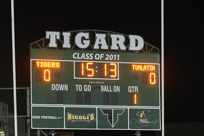 THS Varsity Football vs Tualatin