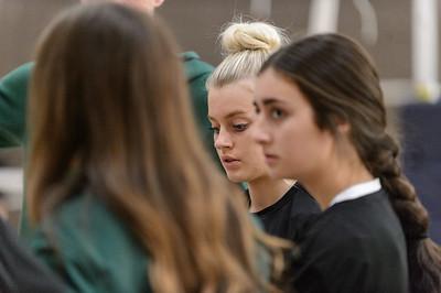 THS Varsity VB vs St Mary's Academy
