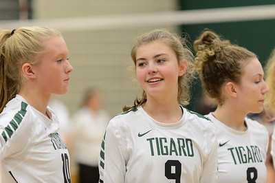 THS Varsity Volleyball vs Tualatin