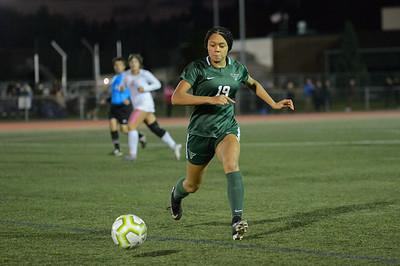 THS Girls Varsity Soccer  vs Tualatin