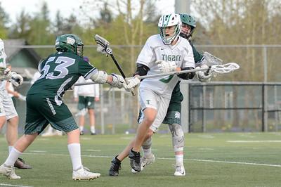 THS Boys JV Lacrosse vs Wilson