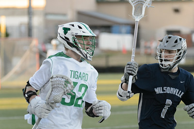 THS Boys Varsity Lacrosse vs Wilsonville